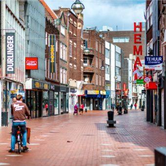 AMSTERDAM C. winkel met mengformule en front van 7 meter